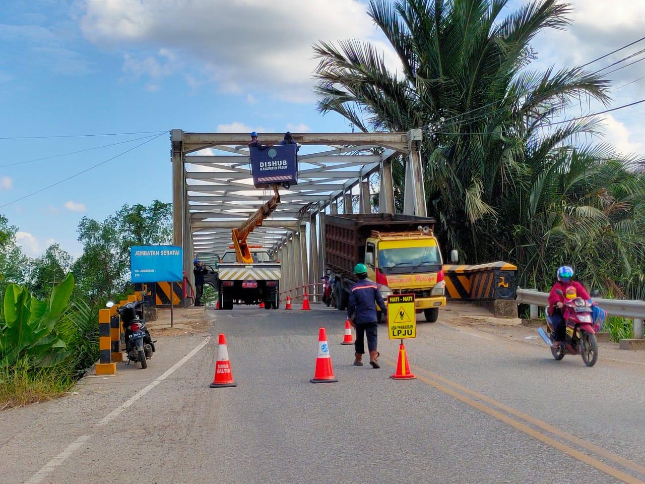 Dishub Paser Siapkan 557 Unit PJU untuk Perbaikan